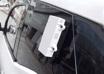 Edeva air quality sensor on delta car